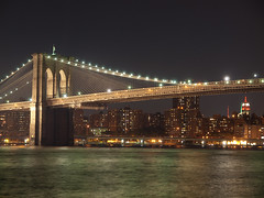 Puente Brooklyn Noche1 (FotoGuiller) Tags: bridge brooklyn puente nocturna