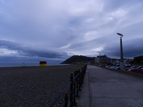 Friday evening on Bray Seafront