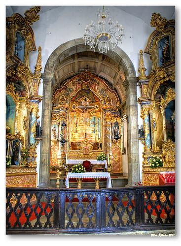 Interior da capela do Bom Jesus #2 by VRfoto
