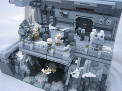 Imperial Garrison (Outer Rim Emperor) Tags: star compound lego empire scifi imperial rebellion wars base moc