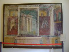 frescos de Pompeya 5 (caliope y la luna) Tags: museoarcheologiconazionale
