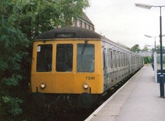 Redditch, September 1989 (elkemasa) Tags: 1989 redditch dmu