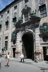 Eingstor zur Münchner Residenz
