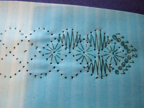 bobbin lace by wikkidknitter