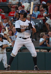 Ray Kruml at bat (NJ Baseball) Tags: newjersey easternleague trenton minorleagues trentonthunder doublea 2011 stirrups mercercountywaterfrontpark raykruml