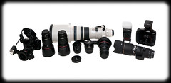 Canon Kit (Craig Jewell Photography) Tags: camera white canon lens photography iso100 kit f11 isolated canonef50mmf14usm ef50mmf14usm ef85mmf18usm canonef85mmf18usm canonef15mmf28fisheye canonef135mmf20lusm pentaxk10d ef15mmf28fisheye 145sec ef135mmf2lusm ef200mmf28lusm canonef200mmf28liiusm canonef500mmf4lisusm canonef1635mmf28liiusm tamronspaf2875mmf28xrdi canonspeedlitetransmitterste2 canonspeedlite580exii canonmacrotwinlitemt24ex ef500mmf4lisusm canoneos5dmkii sigma100300mmf4apoexifhsm canoneos1dmarkiv canon100mmf28lisusmmacro cpjsm sigma100300mmf4exifhsmapo craigjewellphotography