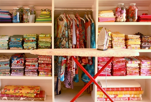 fabric.shelves