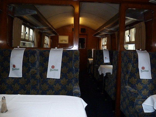 Inside on The Pilsner Urquell Express to the British Open 2011