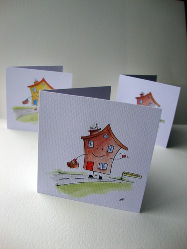 Retirement / moving house cards