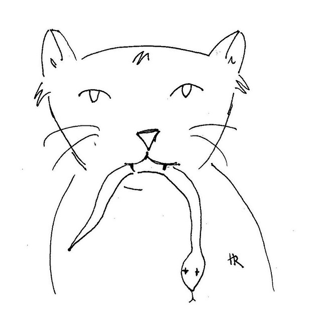 """Illustration Friday: Gesture"""