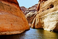 GLEN CANYON (bydamanti) Tags: landscapes utah theamericanwest lakesrivers utahlandscapes travellingwithoutmoving travelliving 1802000mmf3556 thelookofthesouthwest travellinglens mountainscanyons