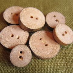 Iron Craft Challenge #29 - Wooden Buttons