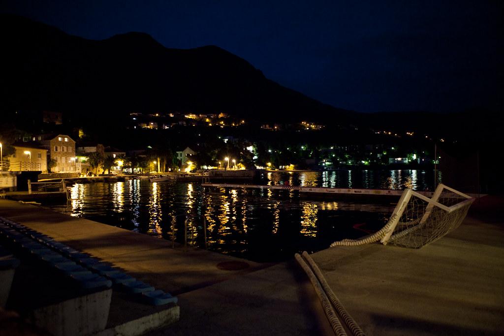 Mlini at Night