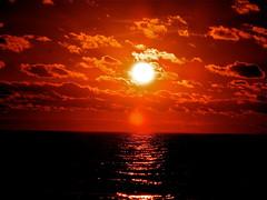 [フリー画像] 自然・風景, 海, 夕日・夕焼け・日没, アメリカ合衆国, 201107231900