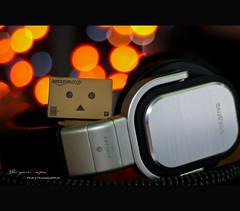 DJ Danbo :P (BryAnton) Tags: toys amazon dj jp headphones danbo danboard