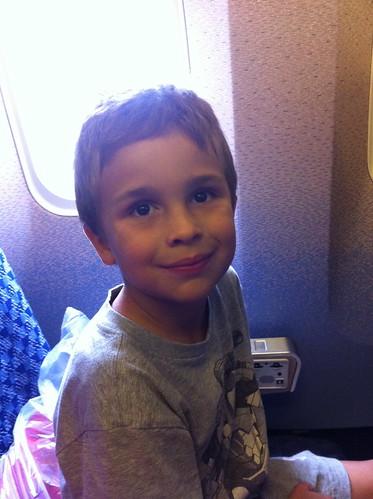 Final plane home