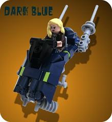 Dark Blue (aabbee 150) Tags: starwars lego speeder darkblue