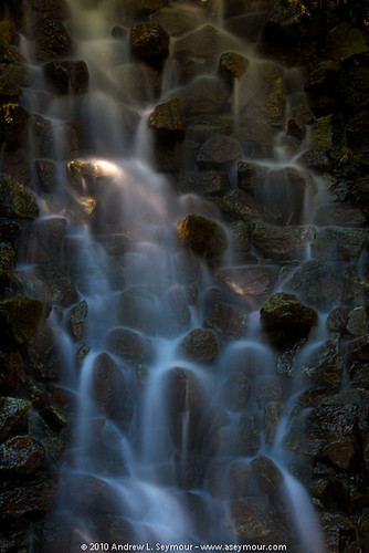 Waterfall - Longwood Gardens HDR