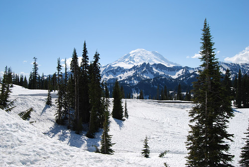 Mt Rainier from Chinook Pass
