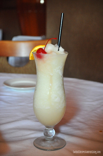 Pina Colada at Conga Latin Bistro ~ Minneapolis, MN
