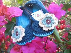crochet slippers (Yuli handmade) Tags: socks crochet slippers bedsocks crochetsocks crochetslippers