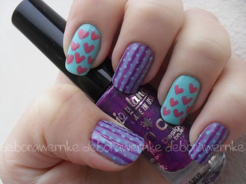 Nail art - Pop Love