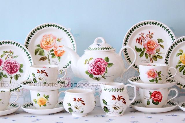 br10 · br9 · br4. Portmeirion Botanic Roses Teaset  sc 1 st  beautiful pottery & BEAUTIFUL POTTERY: Portmeirion Botanic Roses Teaset