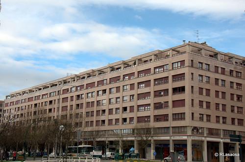 Edificios de viviendas en la Avenida de Pío XII