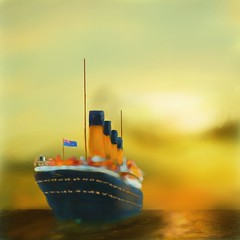 Titanic (Pat McDonald) Tags: greatbritain ireland usa newyork canada love film liverpool mujer belfast romance atlantic tragedy wireless iceberg southampton titanic magda corelpainter pelcula maidenvoyage emigrants harlandandwolff granbretaa rmstitanic steerageclass blueensign 15april1912 shipboardmarriage