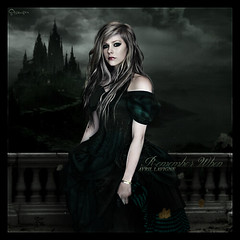 Avril Lavigne: Remember When (~Stranger) Tags: wild black green love smile abbey fashion rose dark soldier dawn star design remember hell style stranger story when what goodbye avril lavigne lullaby the