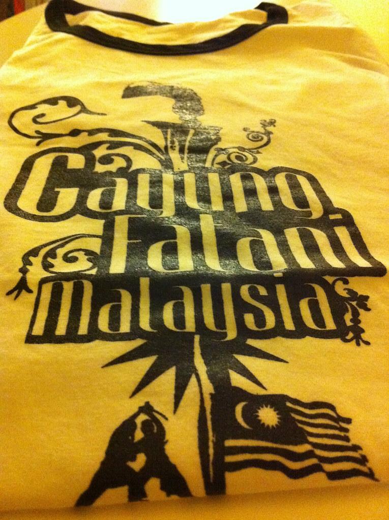 86bf8143533d Le T-shirt du club Seni Gayung Fatani France de Maître Raban (CULTURE SILAT