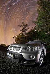 BMW X5 ([Nocturne]) Tags: auto longexposure nightphotography light lightpainting car night silver exposure bmw motor nightphoto nocturne startrails nightexposure x5 noctography wwwnoctographycouk