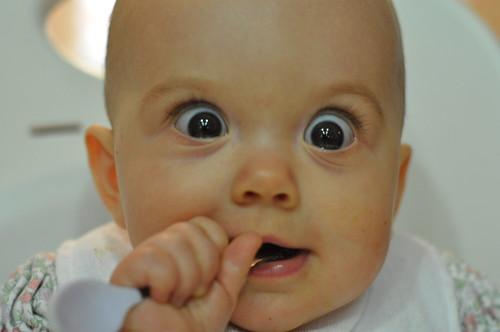EBD 7 months BIG eyes!