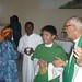 Fr. Patrick and meeting the people
