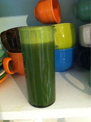 Mmm, green juice! #itsactuallygood
