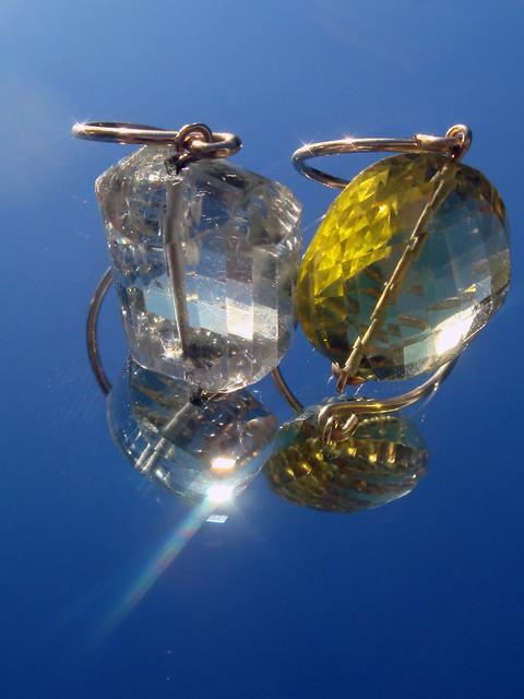 anillos amatista verde y lemon gemmasu