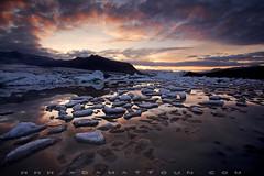 Fjallsarlon Sunrise (wesome) Tags: iceland glacierlagoon fjallsarlon
