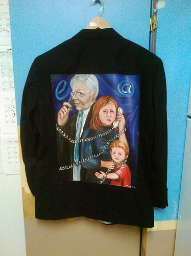 Meeting e-Patient Dave: Dave DeBronkart's Jacket