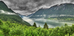 sogn og  fjordane - panorama (Mariusz Petelicki) Tags: panorama norway norge fiord hdr sognogfjordane norwegia