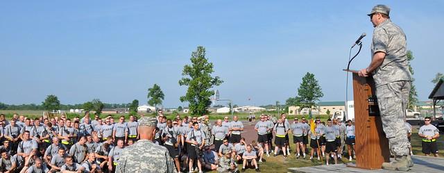 149th Camp Atterbury USO fairwell send off