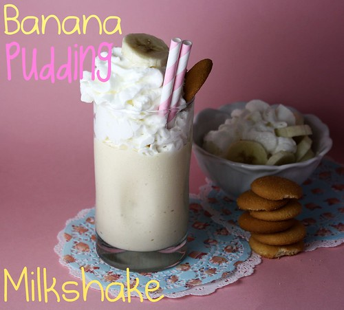Banana Pudding Milkshake - Confessions of a Cookbook Queen