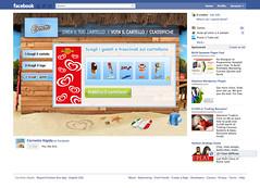 Campagna Facebook Algida