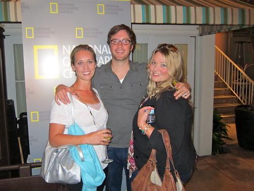 Lindsay Taub with NGC's Chad Sadhas and Lindsay Drewel