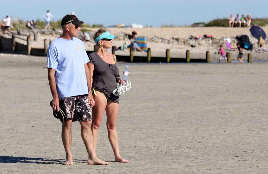 Wonderful West Wittering - June 2011 - Mature Couple Candid