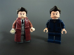 Near Duplicates! (billbobful) Tags: lego 10 dr meta doctor ten 10th clone doctors crisis tenth metacrisis