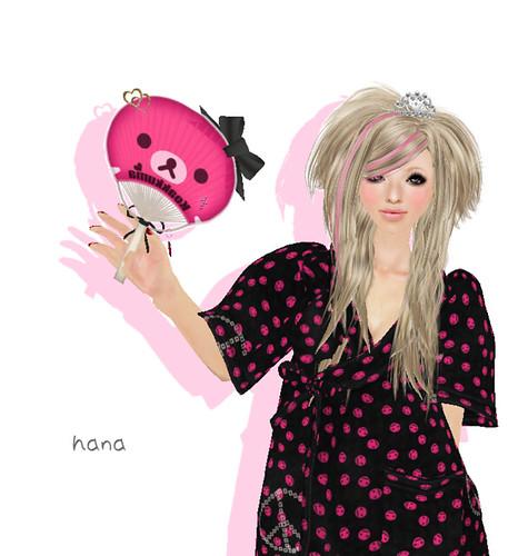 +RUI+ POP-Koakuma Princess Clogs & Decoration Uchiwa