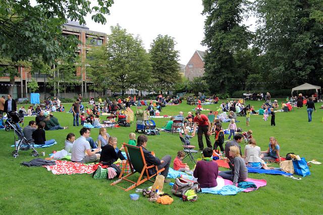 Picknick in het park 2011
