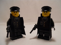 Officers (THEBrickTrooper) Tags: lego german ww2 americans minifig axis allies brickarms mmcb
