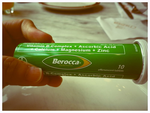 I also love you Berocca!