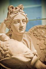 History (campra) Tags: portrait sculpture france history museum germany king head terracotta hamburg shield louisxiv guidi museumfurkunstundgewerbe savefop